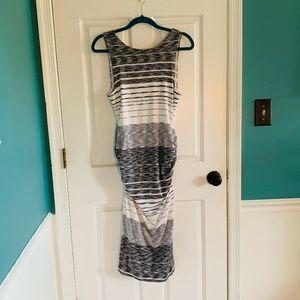ATHLETA ruched tank dress size M